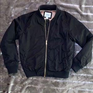 Women's Black Bomber Jacket